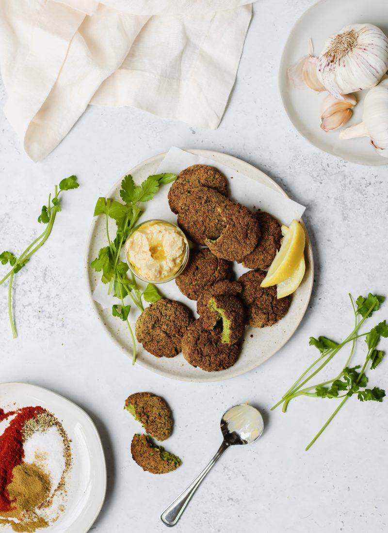 healthy falafel recipe (in the air-fryer!)