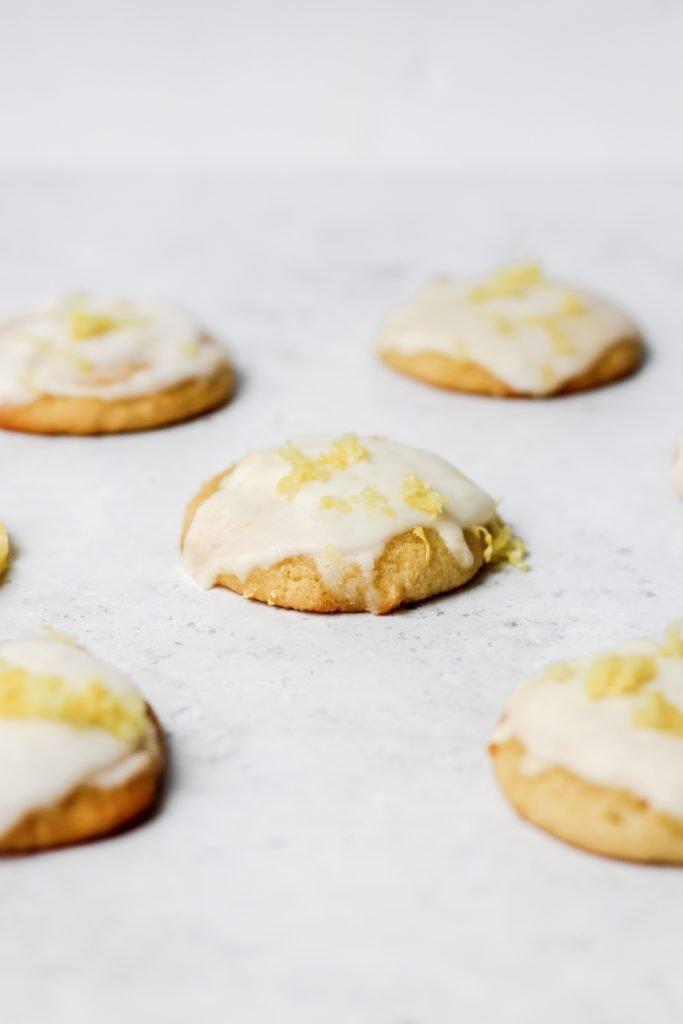 healthy lemon cookies
