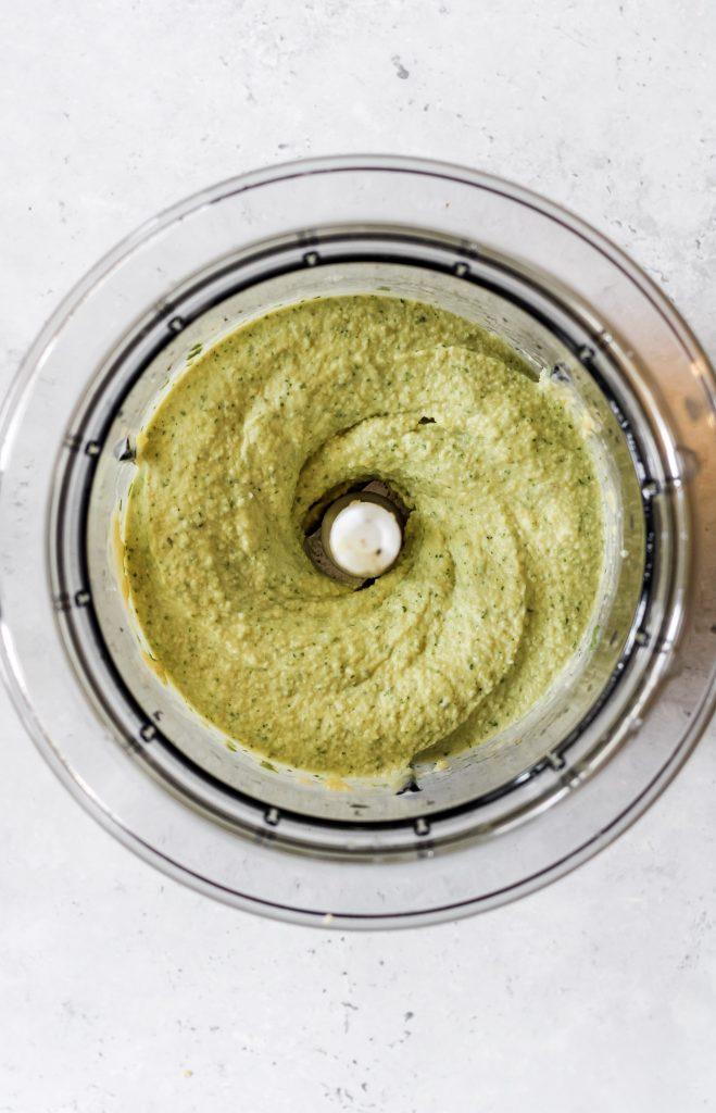 pesto hummus recipe